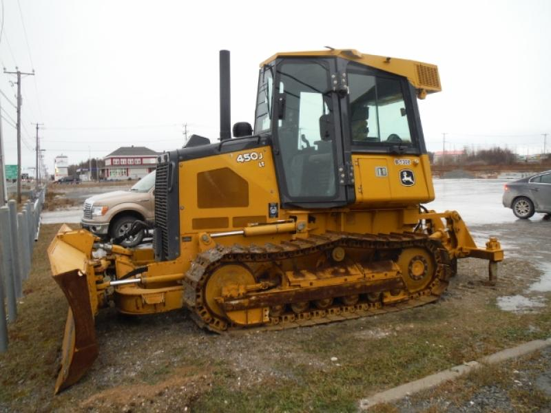 Tracteur à chaînes ( 0 à 9 tonnes) John Deere 450J LT 2013 En Vente chez EquipMtl
