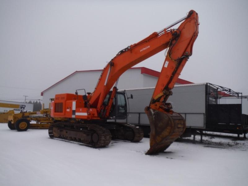 Excavatrice (40 tonnes et plus) Hitachi ZX450LC-3DH 2010 En Vente chez EquipMtl