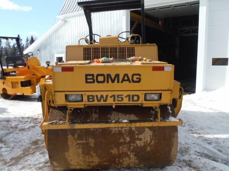 Bomag BW151 AD 1989 Équipement en vente chez EquipMtl
