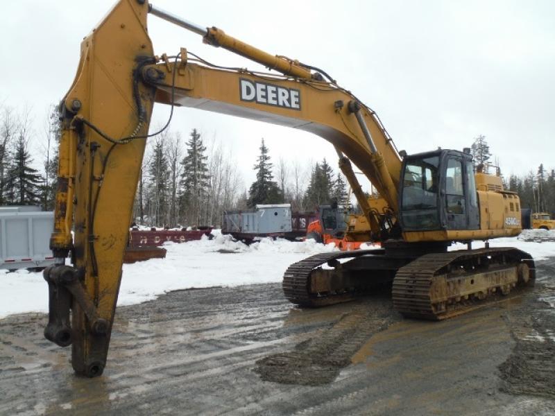 Excavatrice (40 tonnes et plus) John Deere 450C LC 2002 En Vente chez EquipMtl