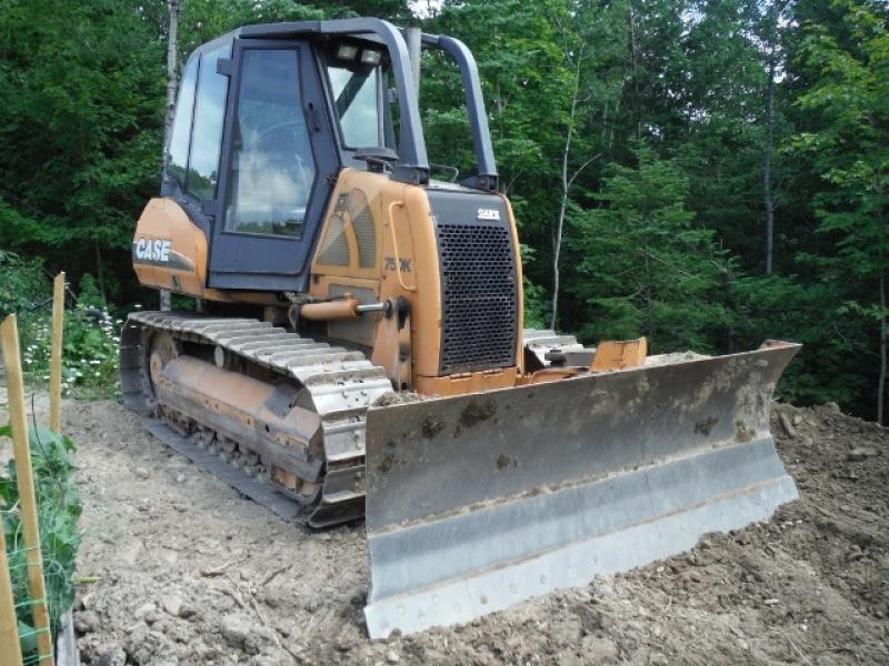Tracteur à chaînes (10 à 20 tonnes) Case 750K 2003 En Vente chez EquipMtl