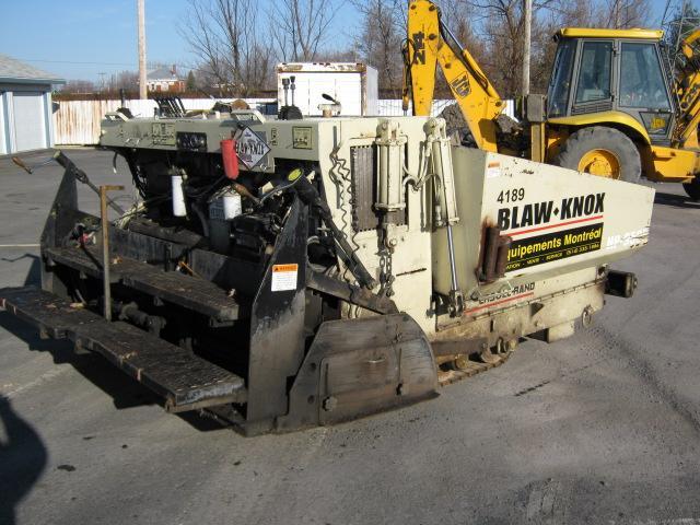 vendu Blaw knox / Neal / Ingersoll-Rand HP9500 2000 En Vente chez EquipMtl