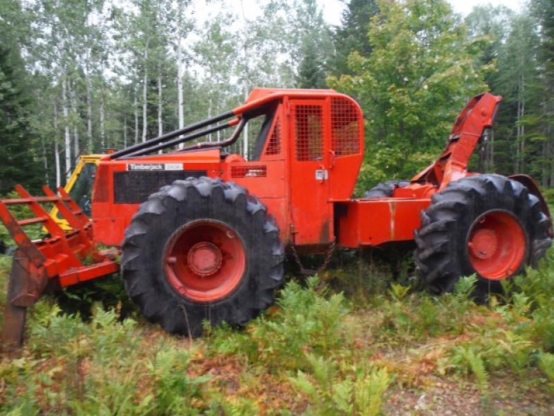 Débusqueuse Timberjack 240A 1984 équipement