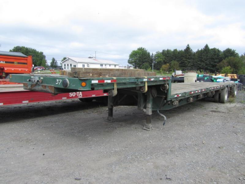 Remorque surbaissée manac 13248 2005 équipement