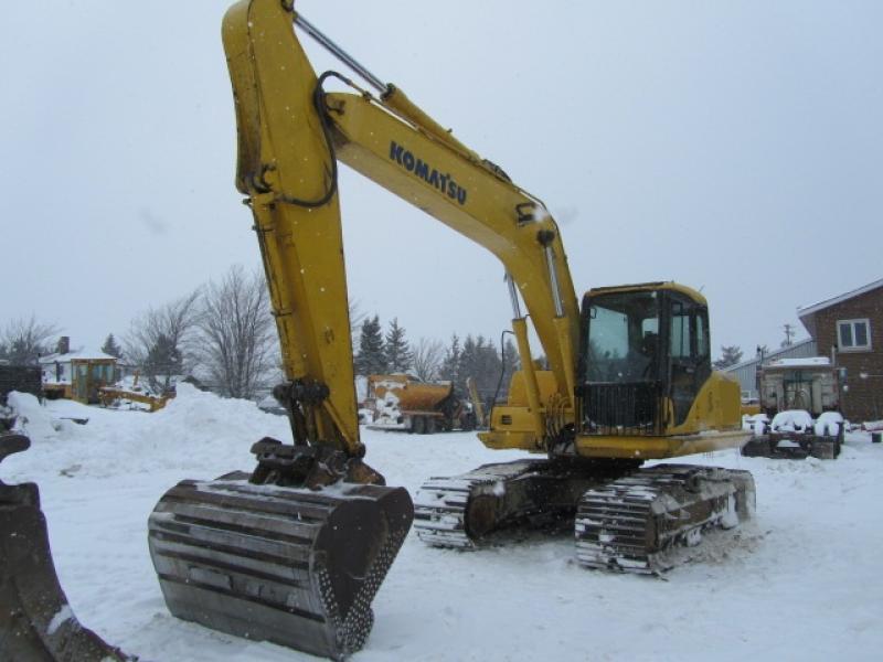 Excavatrice ( 9 à 19 tonnes) Komatsu PC160LC-7KA 2006 En Vente chez EquipMtl