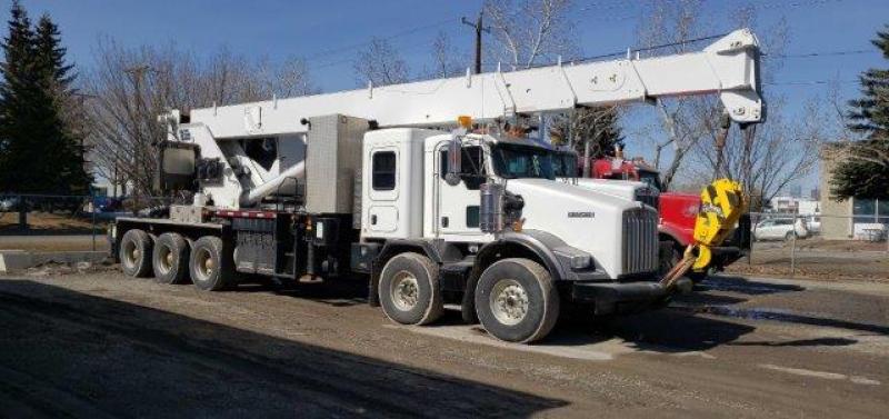 Camion grue Kenworth T800B 2015 En Vente chez EquipMtl