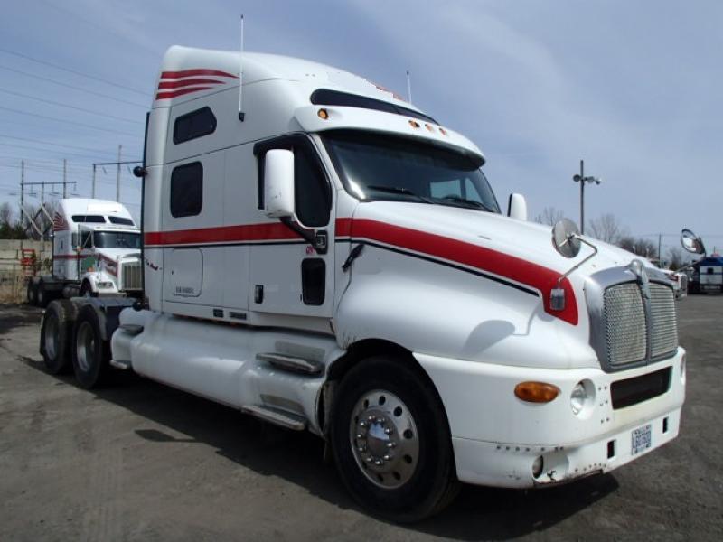 Camion Tracteur 10 roues couchette Kenworth T2000 1997 En Vente chez EquipMtl