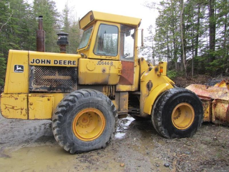 Chargeur sur roues (5 à 30 tonnes) John Deere 644B 1977 En Vente chez EquipMtl