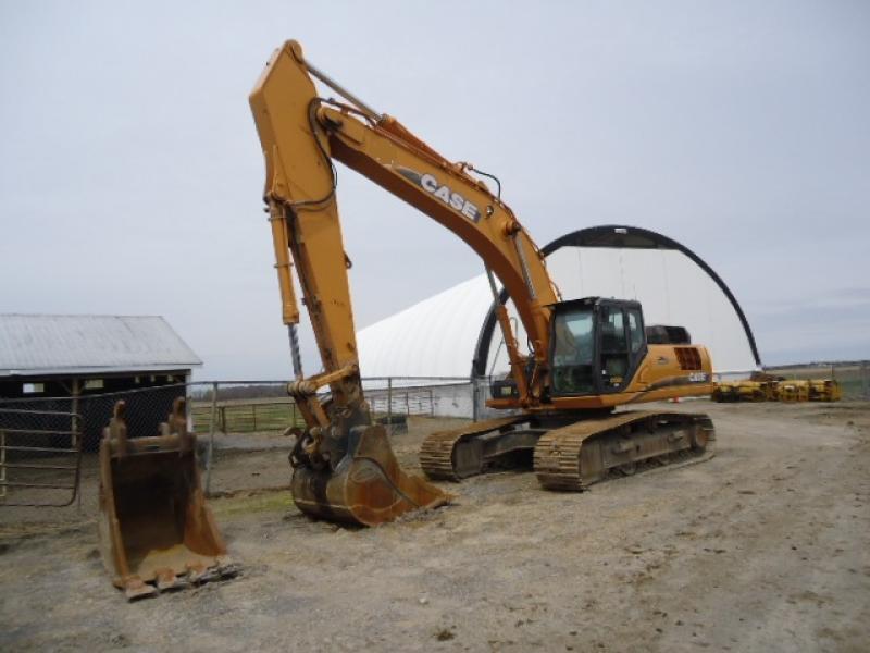 Excavatrice (20 à 39 tonnes) Case CX350C 2011 En Vente chez EquipMtl