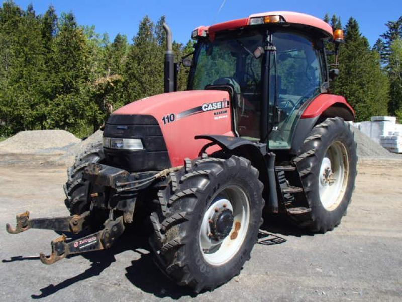 Tracteur agricole 4X4 Case IH Maxxum 110  2008 En Vente chez EquipMtl
