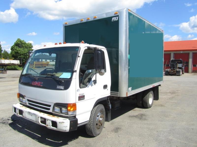Camion-cube Gmc W4500 2004 En Vente chez EquipMtl
