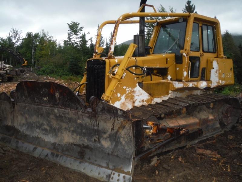 Tracteur à chaînes (10 à 20 tonnes) John Deere 850B 1988 En Vente chez EquipMtl