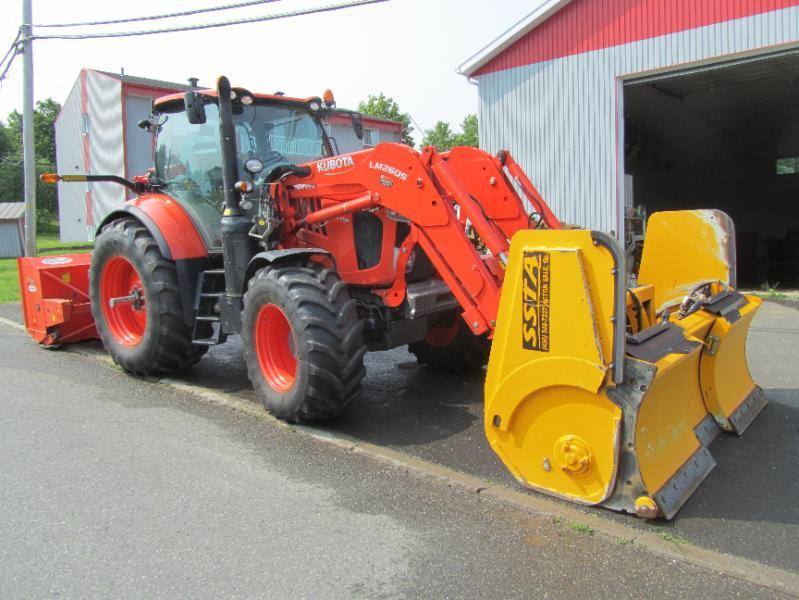 Tracteur agricole 4X4 Kubota M7-171 2016 En Vente chez EquipMtl