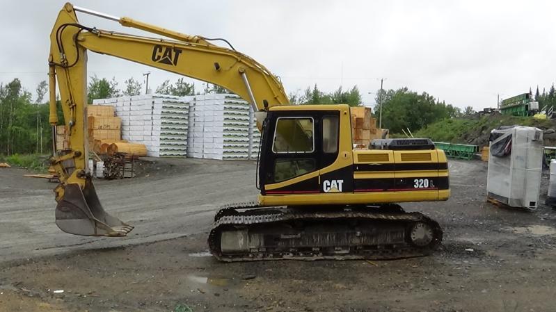 Excavatrice (20 à 39 tonnes) Caterpillar 320L 1995 En Vente chez EquipMtl