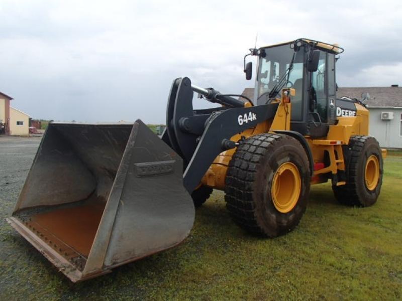 Chargeur sur roues (5 à 30 tonnes) John Deere 644K 2012 En Vente chez EquipMtl