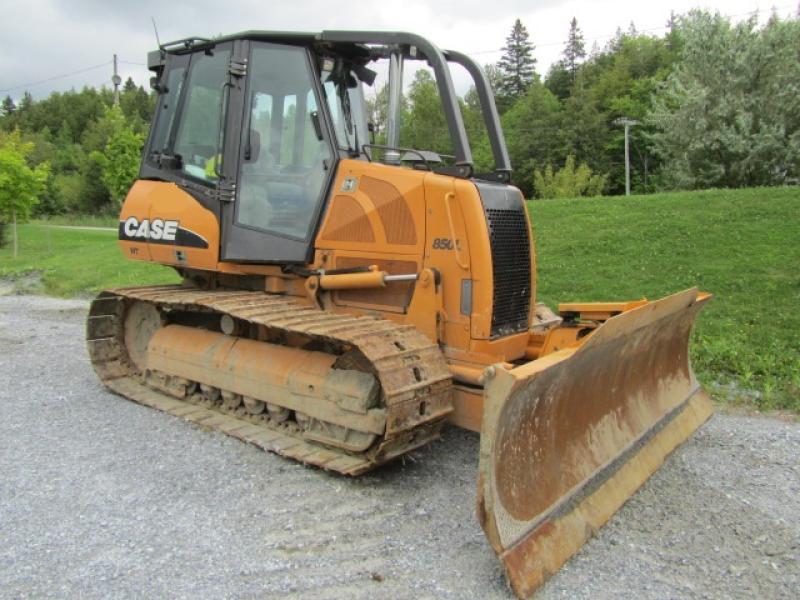 Tracteur à chaînes ( 0 à 9 tonnes) Case 850L WT 2010 En Vente chez EquipMtl