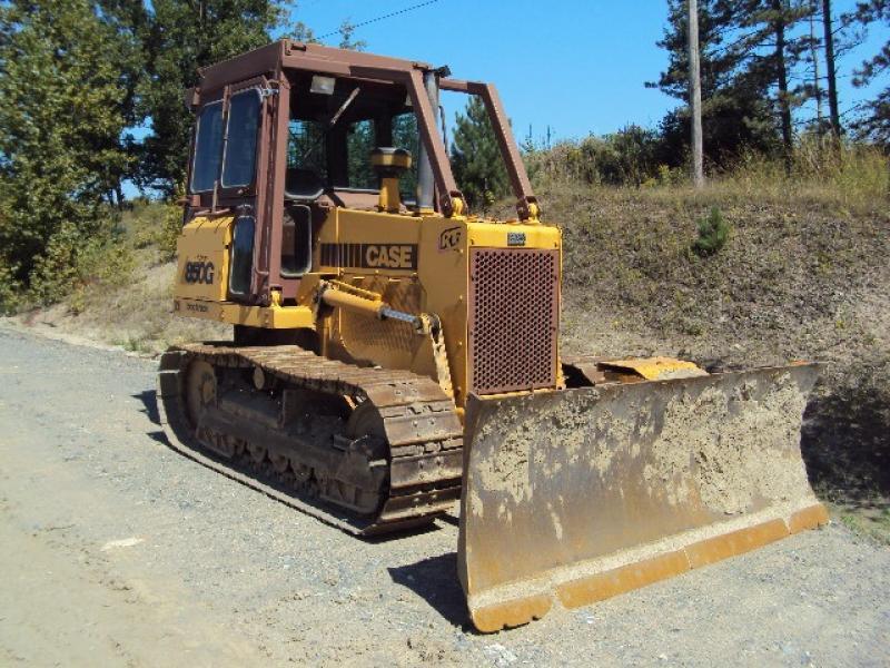 Tracteur à chaînes ( 0 à 9 tonnes) Case 850G LT 1995 En Vente chez EquipMtl