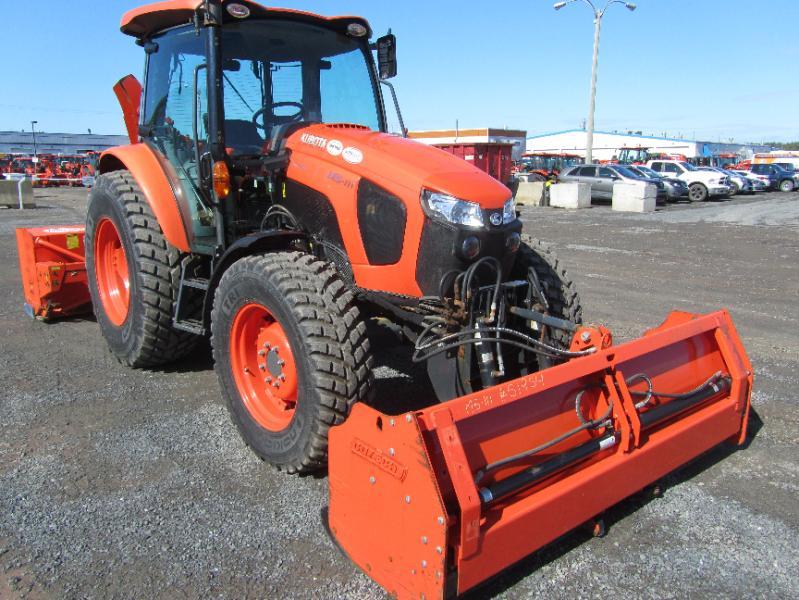 Tracteur agricole 4X4 Kubota M5-111HDC24 2017 En Vente chez EquipMtl