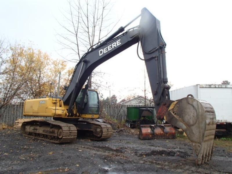 Excavatrice (20 à 39 tonnes) John Deere 350D LC 2010 En Vente chez EquipMtl