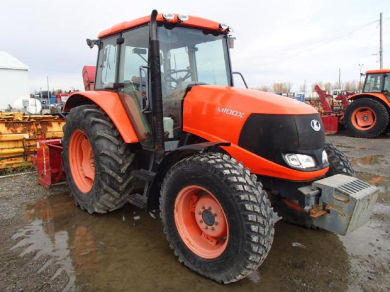 Tracteur agricole 4X4 Kubota M100X DTC 2009 En Vente chez EquipMtl
