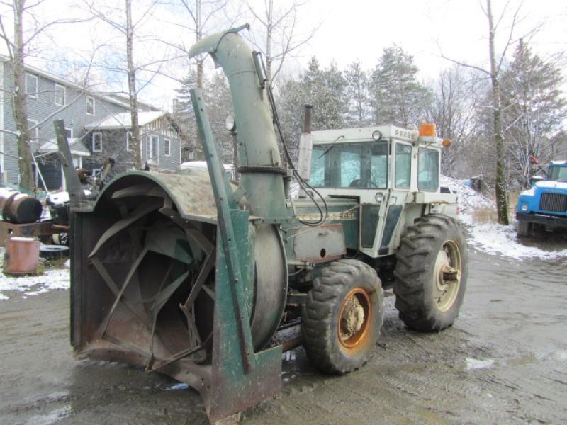 Tracteur à neige White Oliver 1955 1973 équipement
