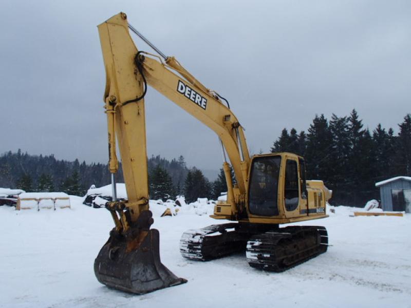 Excavatrice ( 9 à 19 tonnes) John Deere 160 CL 2001 En Vente chez EquipMtl
