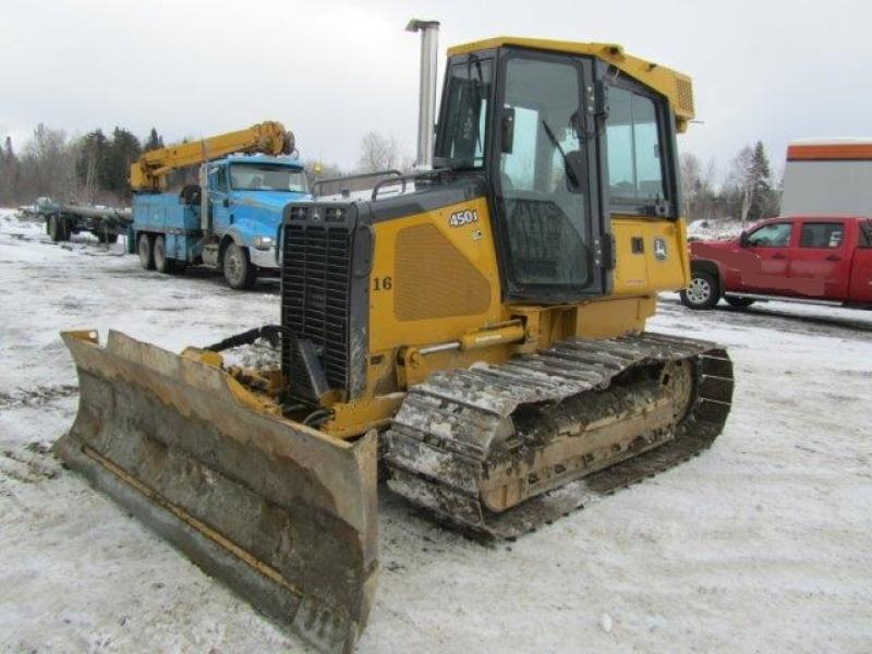 Tracteur à chaînes ( 0 à 9 tonnes) John Deere 450J LC 2006 En Vente chez EquipMtl