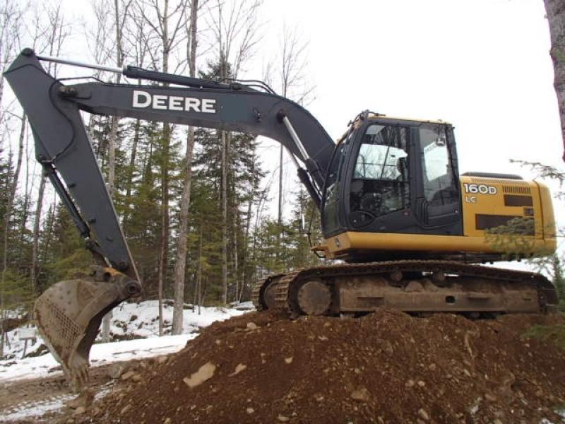 Excavatrice ( 9 à 19 tonnes) John Deere 160D LC 2008 En Vente chez EquipMtl