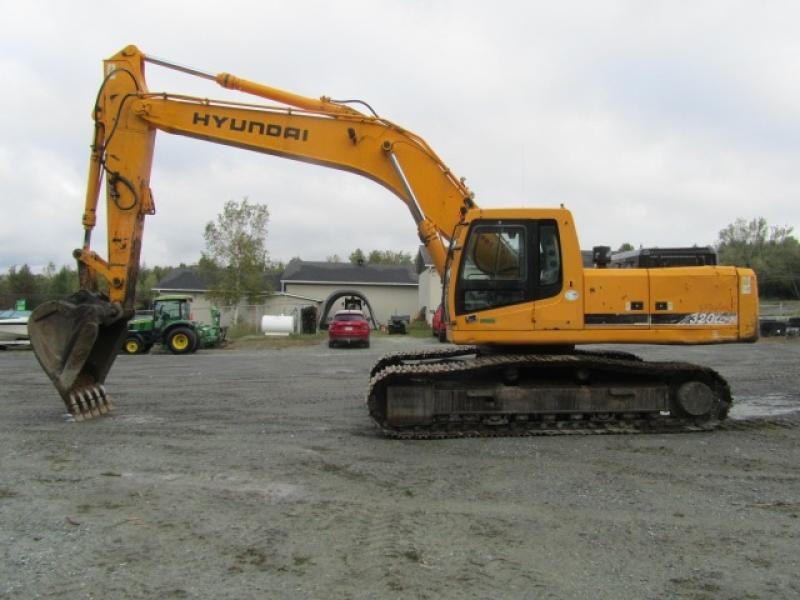 Excavatrice (20 à 39 tonnes) Hyundai Robex 320LC-7 2006 En Vente chez EquipMtl