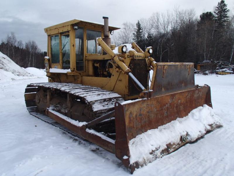 Tracteur à chaînes (10 à 20 tonnes) Caterpillar D6C LGP 1976 En Vente chez EquipMtl