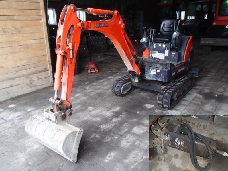 Excavatrice ( 8 tonnes et moins) Kubota KX41-3V 2009 En Vente chez EquipMtl