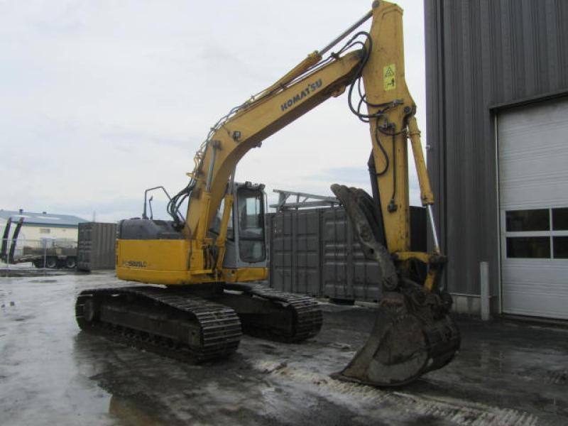 Excavatrice ( 9 à 19 tonnes) Komatsu PC158USLC-2 2005 En Vente chez EquipMtl