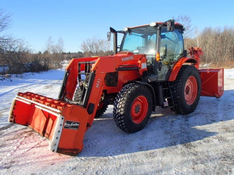 Tracteur à neige Kubota M100GX 2013 En Vente chez EquipMtl