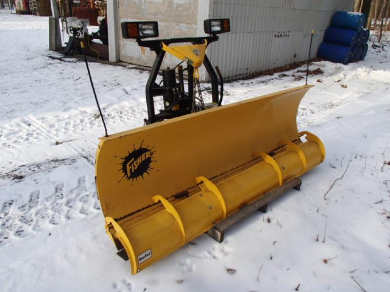 Snow plow Fisher Minute Mont For Sale at EquipMtl