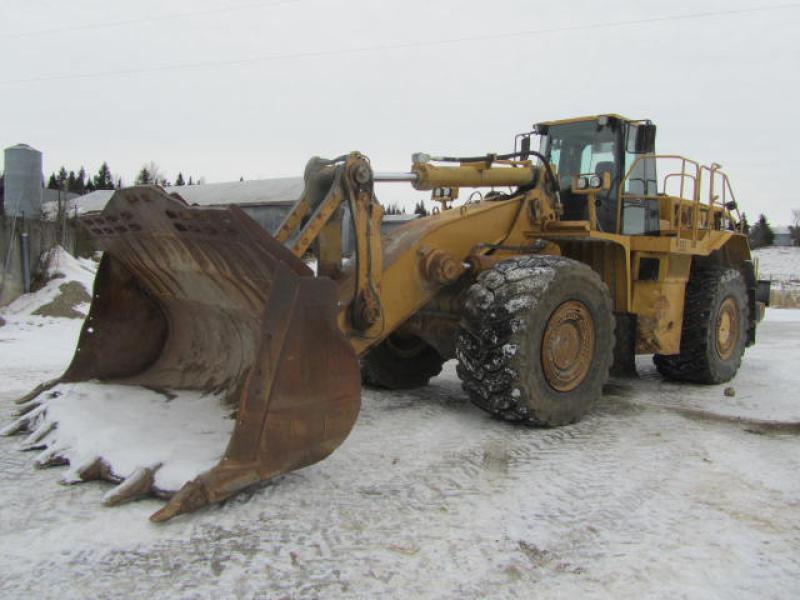 Chargeur sur roues (30 tonnes et plus) Caterpillar 988G 2001 En Vente chez EquipMtl