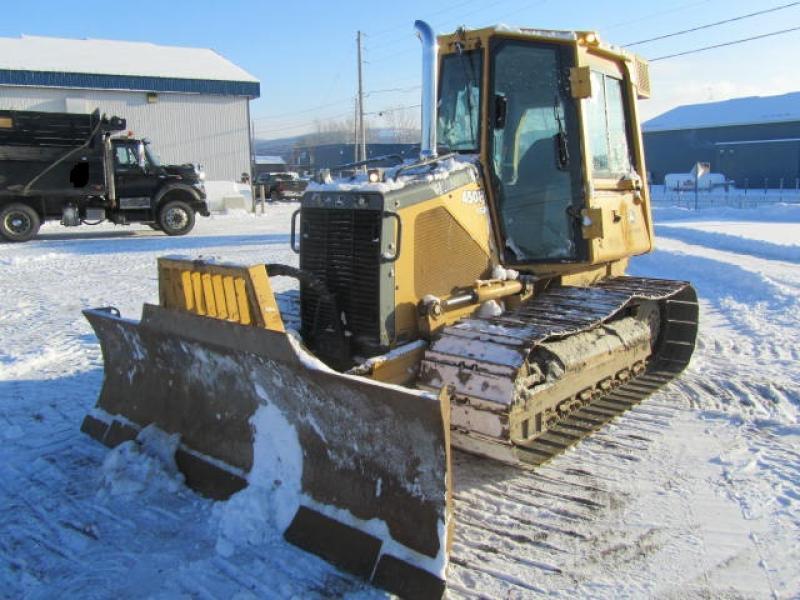 Tracteur à chaînes ( 0 à 9 tonnes) John Deere 450H LGP 2004 En Vente chez EquipMtl