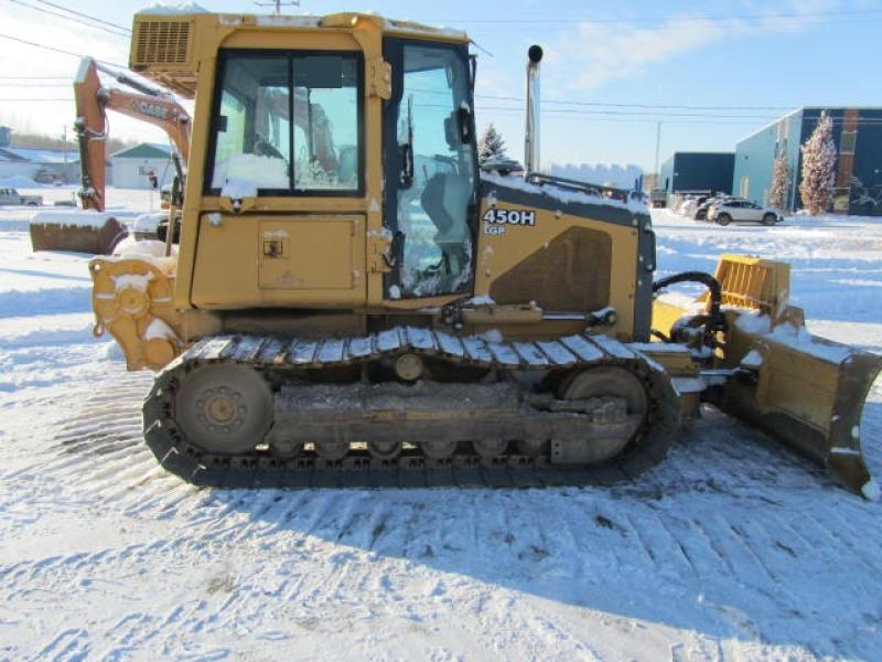Tracteur à chaînes ( 0 à 9 tonnes) John Deere 450H LGP 2004 Équipement en vente chez EquipMtl