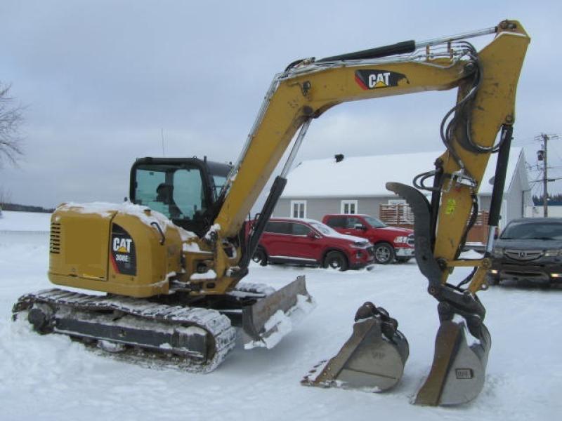 Excavatrice ( 8 tonnes et moins) Caterpillar 308E2 CR 2018 En Vente chez EquipMtl