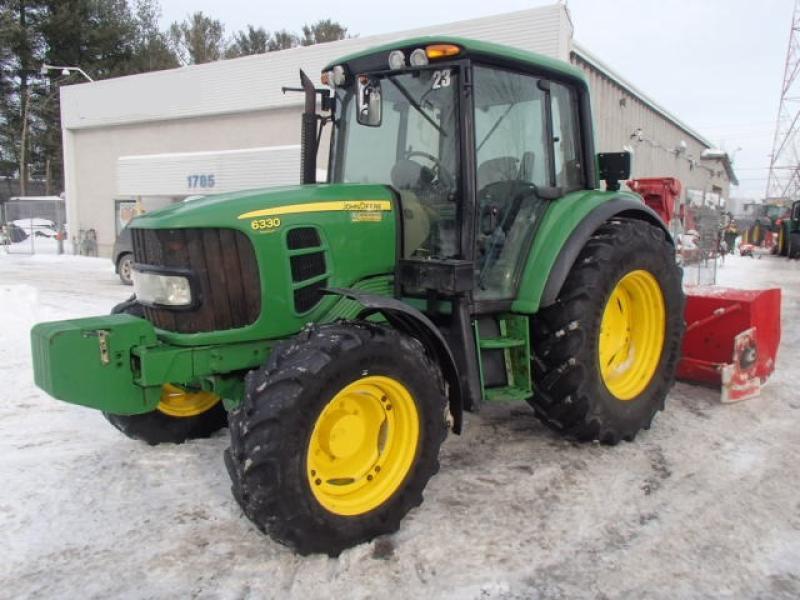 Tracteur à neige John Deere 6330 Premium 2011 En Vente chez EquipMtl