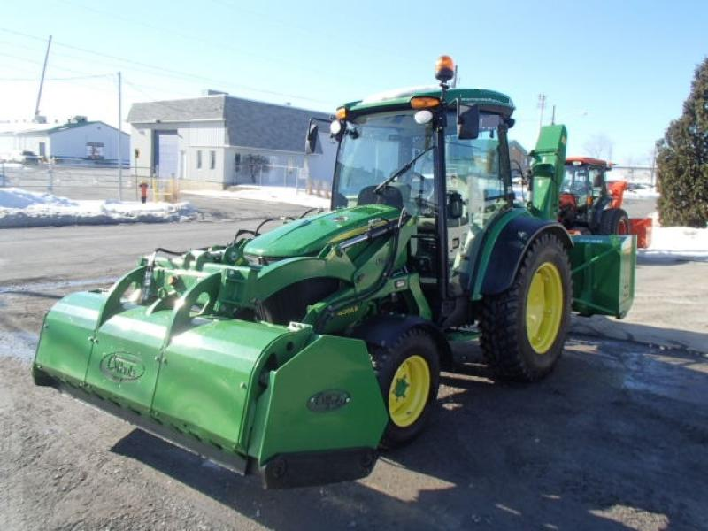 Tracteur agricole 4X4 John Deere 4066R 2018 En Vente chez EquipMtl