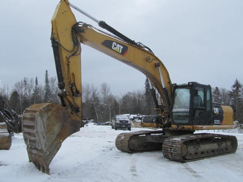 Excavatrice (20 à 39 tonnes) Caterpillar 322CL 2003 En Vente chez EquipMtl