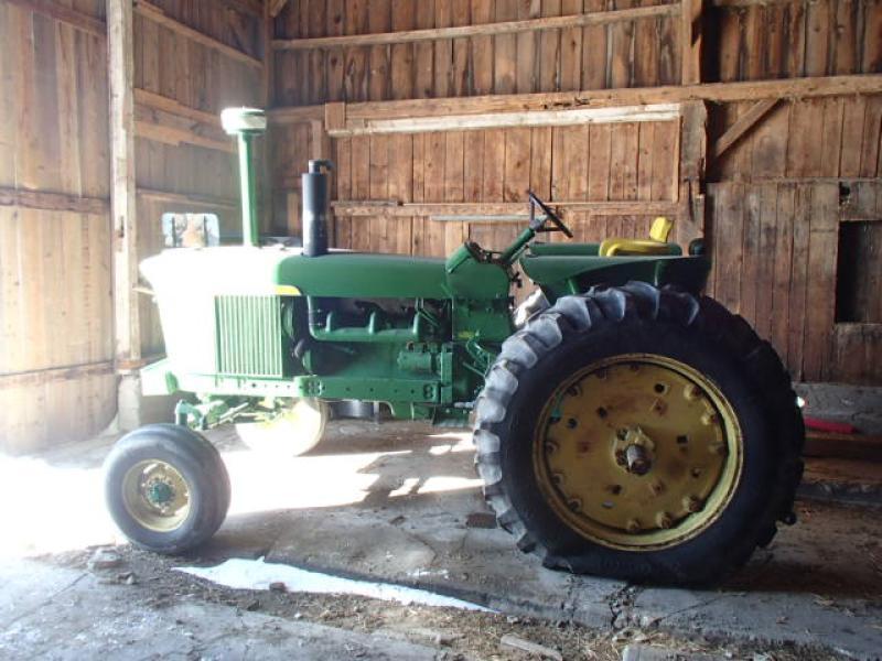 Tracteur agricole 2X4 John Deere 4020 1967 En Vente chez EquipMtl