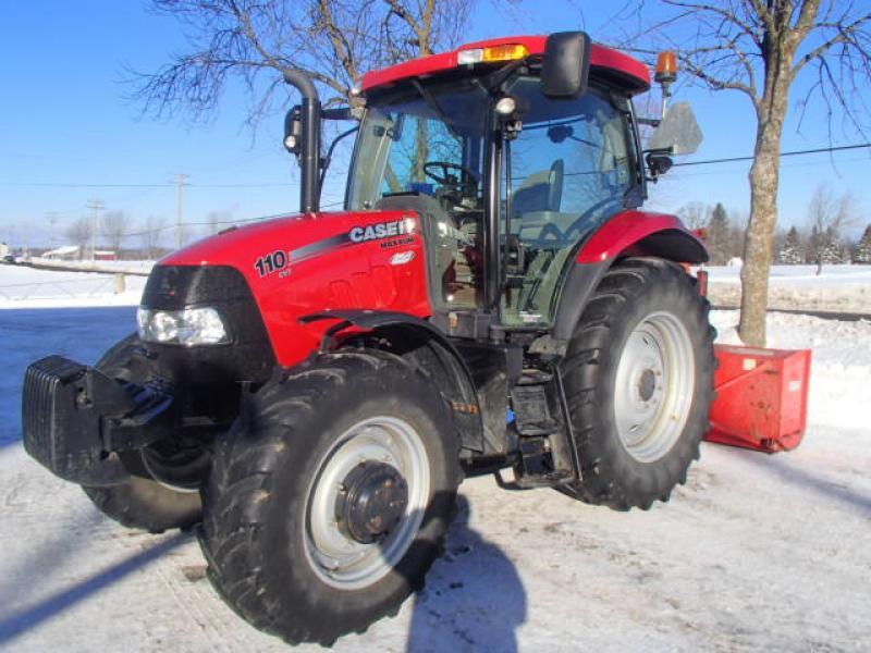 Tracteur agricole 4X4 case IH Maxxum 110 2015 En Vente chez EquipMtl