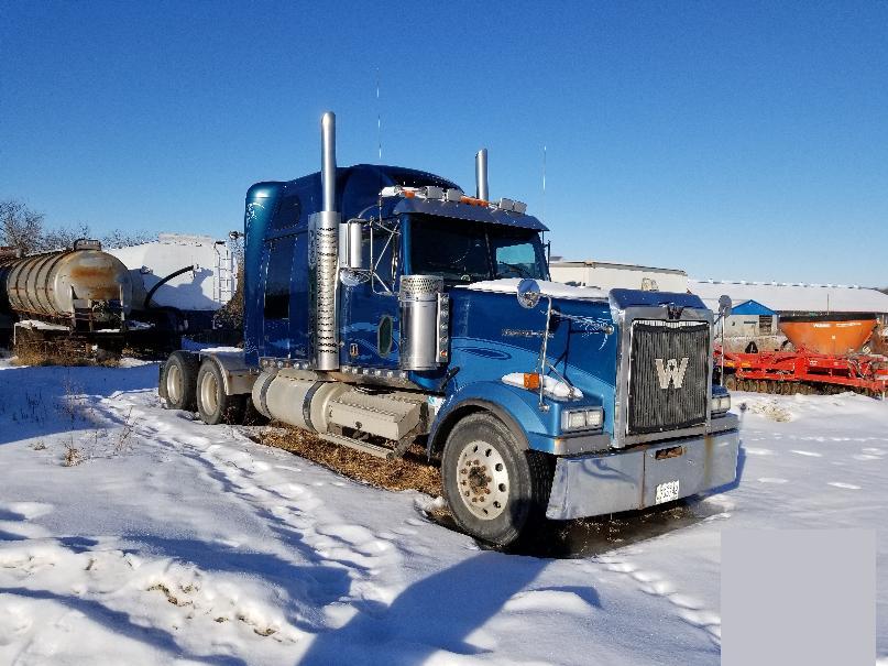 Camion Tracteur 10 roues couchette Western Star 4900 EX 2006 En Vente chez EquipMtl