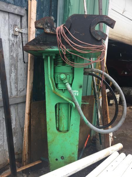 Marteau hydraulique Tramac BRH 501 1987 En Vente chez EquipMtl