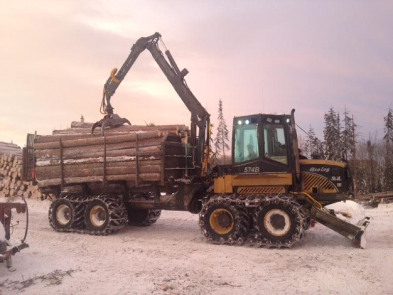 Forwarders Ecolog 574B 2006 For Sale at EquipMtl