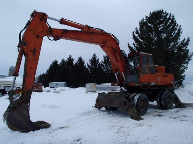 Excavatrice sur roues Atlas AB1702D 1979 En Vente chez EquipMtl