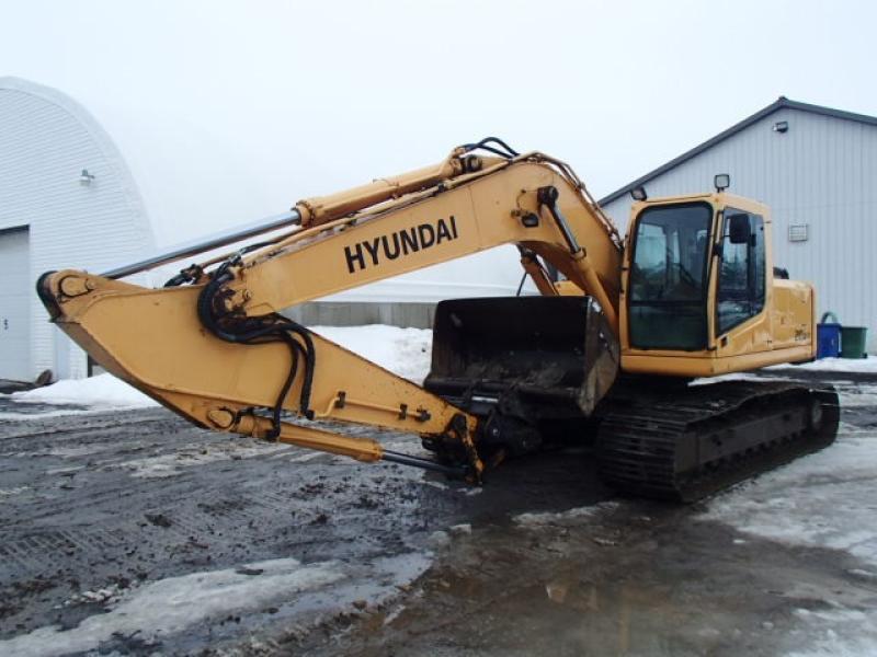 Excavatrice (20 à 39 tonnes) Hyundai Robex 210LC-7 2007 En Vente chez EquipMtl