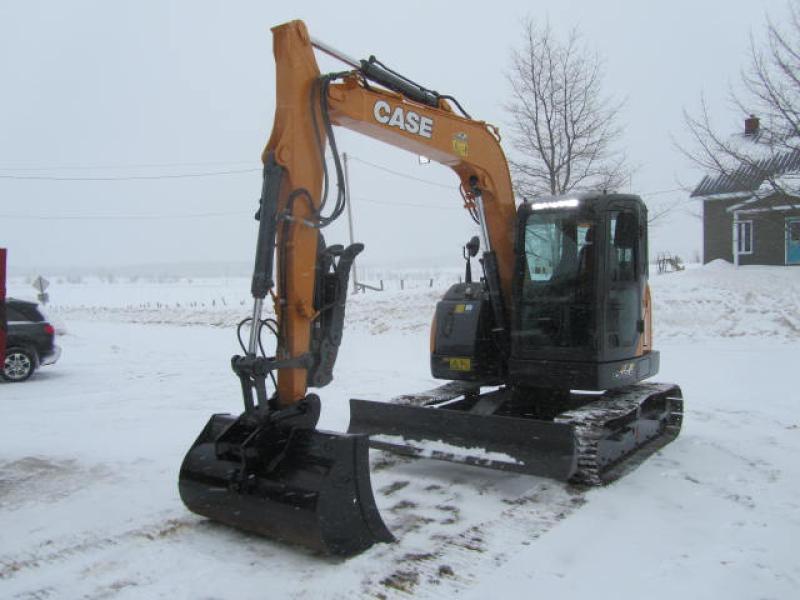 Excavatrice ( 8 tonnes et moins) Case CX75CSR 2018 En Vente chez EquipMtl