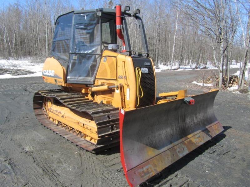 Tracteur à chaînes ( 0 à 9 tonnes) Case 650K LGP III 2007 En Vente chez EquipMtl